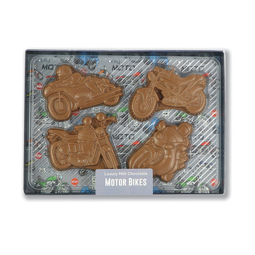 Chocolate Motor Bikes Set