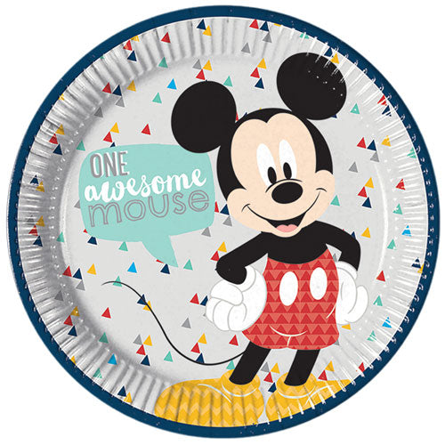 Mickey Mouse Awesome Paper Plates