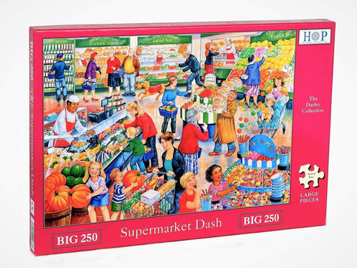 HOP Supermarket Dash Big 250 Piece Jigsaw Puzzle