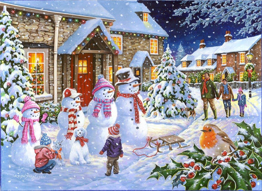 HOP Snow Family 1000 Piece Jigsaw Puzzle