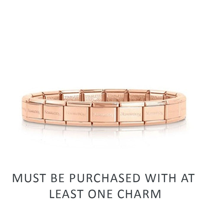 Nomination Classic Base Bracelet Rose Gold