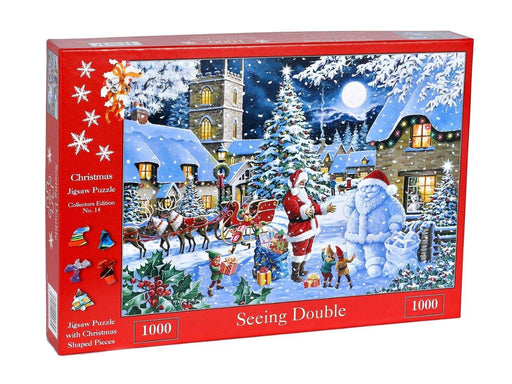 HOP 2019 Seeing Double Christmas Collectors Edition No.14 1000 Piece Jigsaw Puzzle