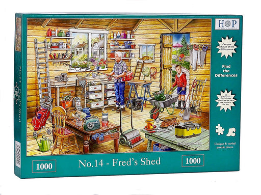 HOP Fred's Shed 1000 Piece Jigsaw Puzzle