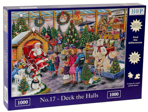 HOP Deck The Halls No17 1000 Piece Jigsaw Puzzle