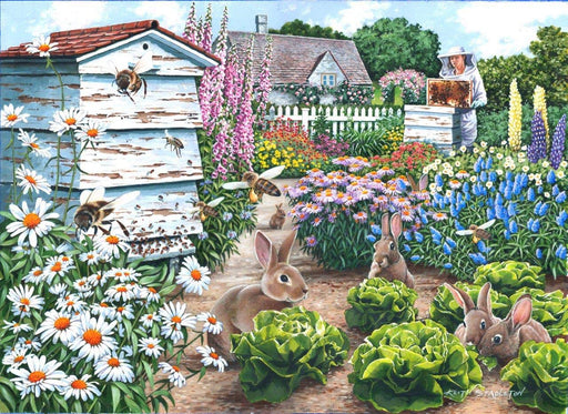 HOP Honey Bunnies Big 500 Piece Jigsaw Puzzle