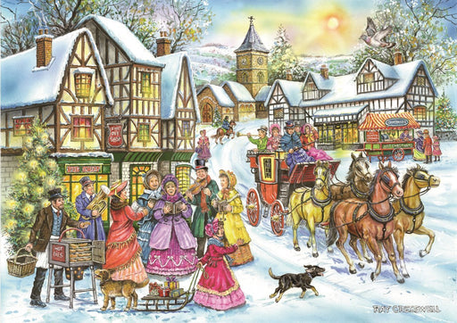 HOP Coach & Carols 1000 Piece Jigsaw Puzzle