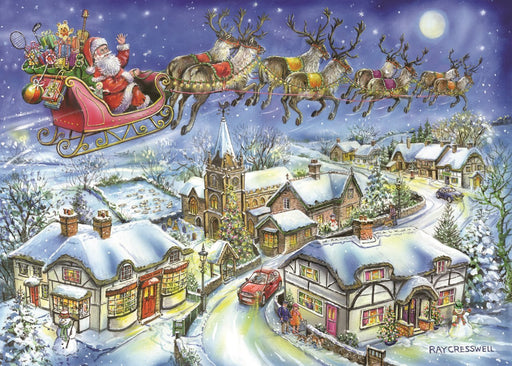 HOP Christmas Eve 2018 Christmas Collectors Edition No.13 1000 Piece Jigsaw Puzzle
