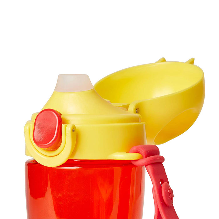 Skip Hop Zoo Monkey Lock-Top Sports Bottle