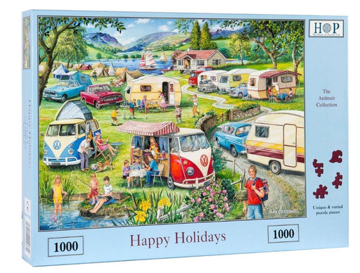 HOP Happy Holidays 1000 Piece Jigsaw Puzzle