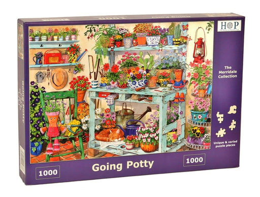 HOP Going Potty 1000 Piece Jigsaw Puzzle