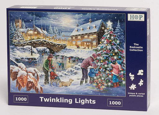HOP Twinkling Lights 1000 Piece Jigsaw Puzzle