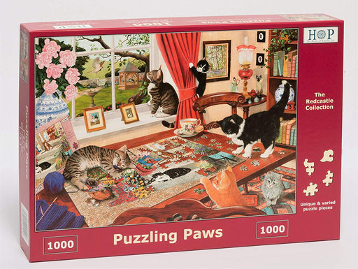HOP Puzzling Paws 1000 Piece Jigsaw Puzzle