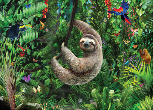 Peter Pauper Press Sloth 1000pc Jigsaw Puzzle