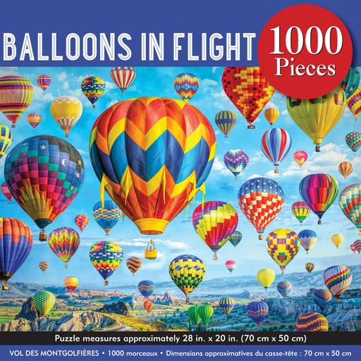 Peter Pauper Press Balloons in Flight 1000pc Jigsaw Puzzle