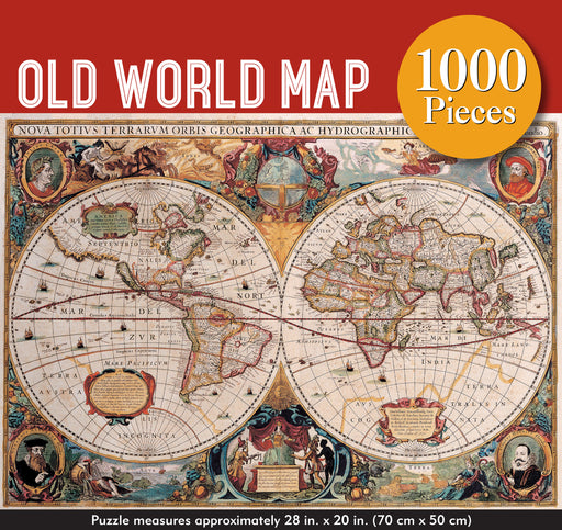 Peter Pauper Press Old World 1000pc Jigsaw Puzzle