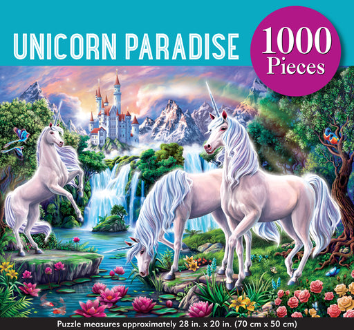 Peter Pauper Press Unicorn Paradise 1000pc Jigsaw Puzzle