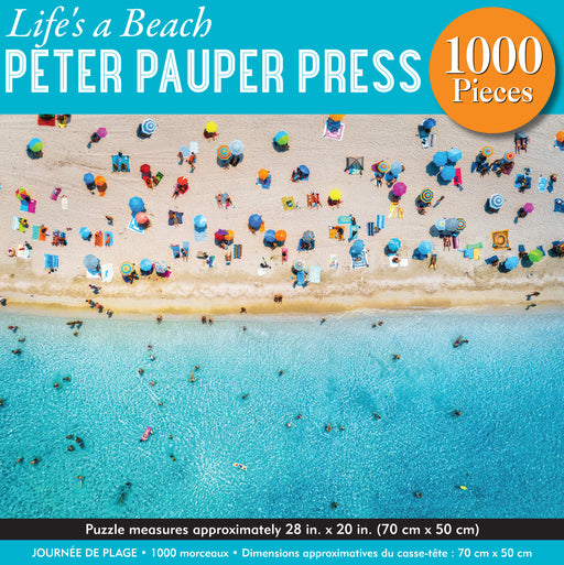 Peter Pauper Press Life's a Beach 1000pc Jigsaw Puzzle