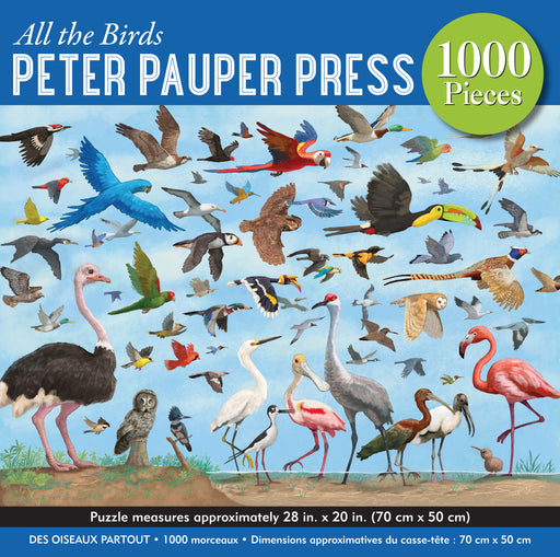 Peter Pauper Press All the Birds 1000pc Jigsaw Puzzle