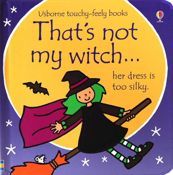 Usborne That's Not My Witch Book