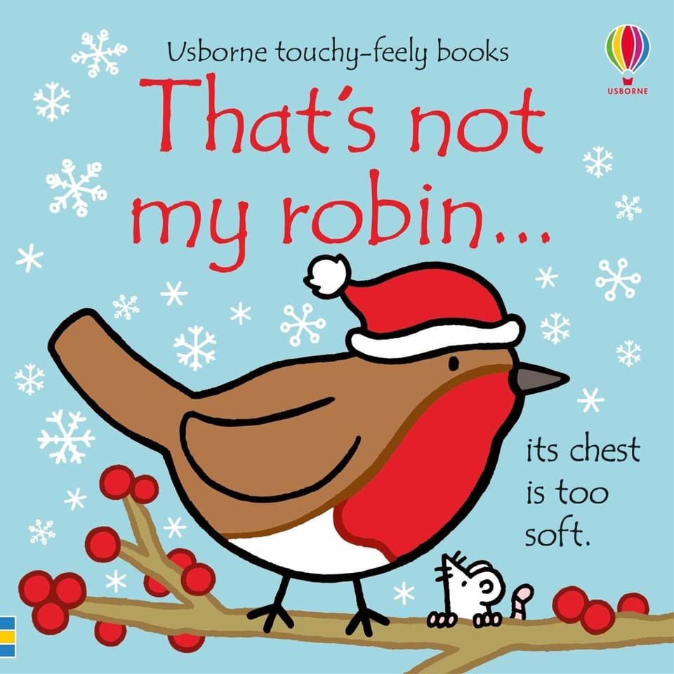 Usborne That's Not My Robin Book