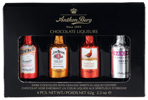 Anthon Berg 4pc Chocolate Liqueurs Box