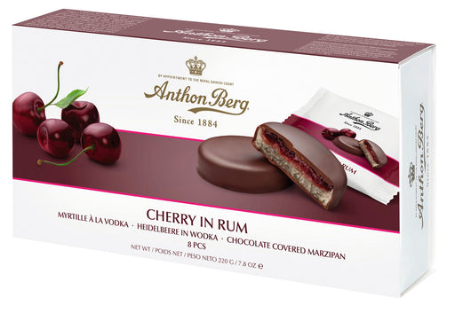 Anthon Berg Cherry and Rum Marzipan 220g