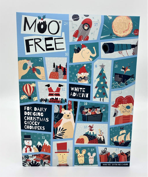 Moo Free White Advent Calendar