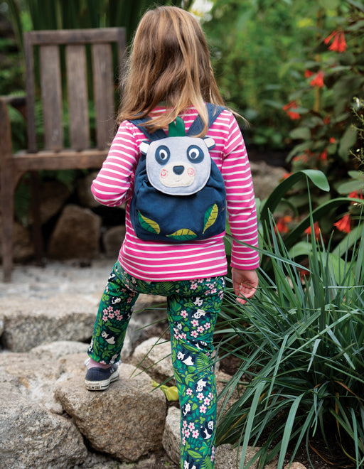Frugi Playtime Character Backpack Panda