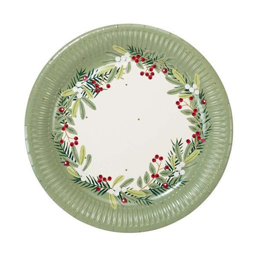 Talking Tables Botanical Berry Plate - 8 Pack