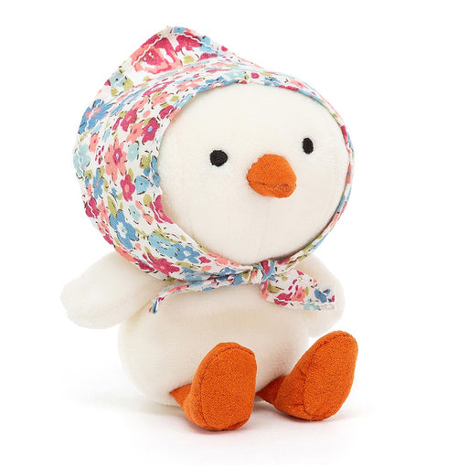 Jellycat Betty Bonnet Cream Chick