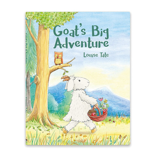 Jellycat Goats Big Adventure Story Book