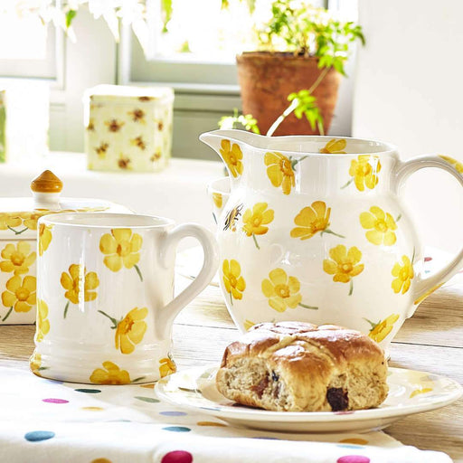 Emma Bridgewater Buttercup Scattered 1/2 Pint Mug