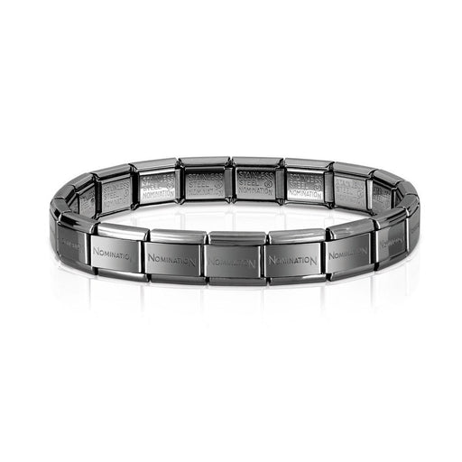 Nomination Classic Base Bracelet Gunmetal