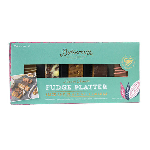 Buttermilk Fudge Platter