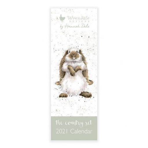 Wrendale 2021 The Country Set Slim Calendar