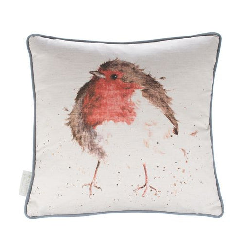 Wrendale Designs 'The Jolly Robin' Cushion