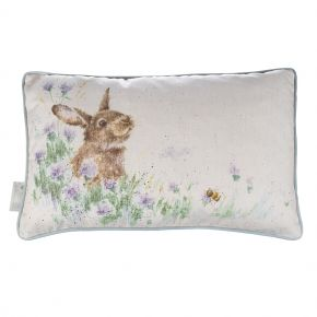 Wrendale Designs Meadow Rabbit Rectangular Cushion