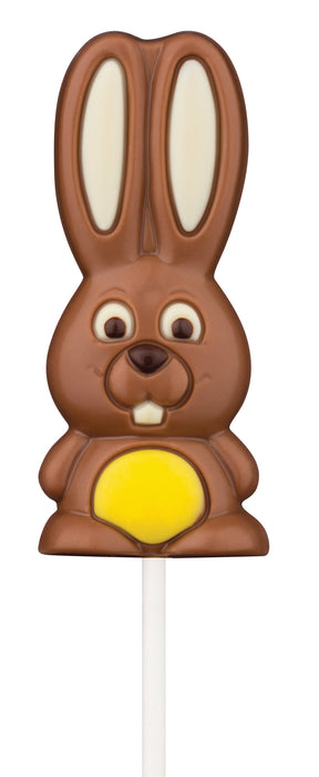Funny Bunny Chocolate Lollipop