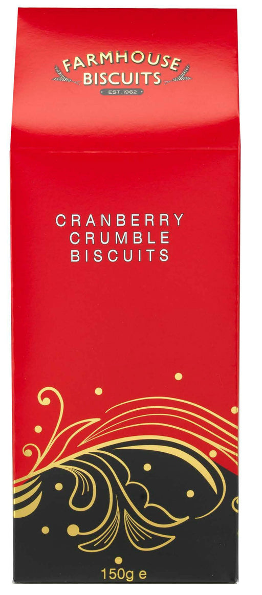 Farmhouse Biscuits Cranberry Crumble