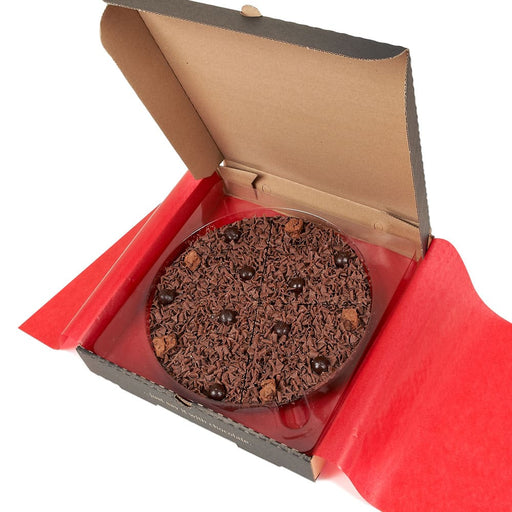 "Delightfully Dark Chocolate 7"" Pizza"