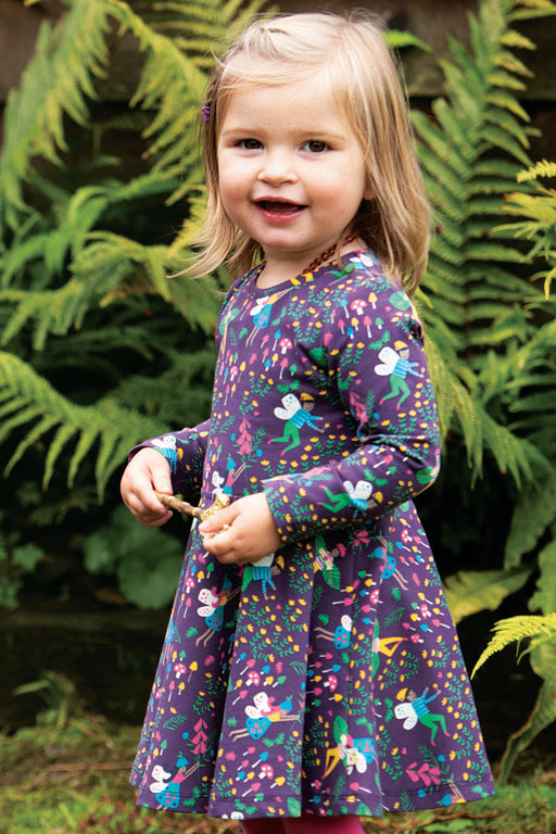 Frugi Fairy Friends Sofia Skater Dress