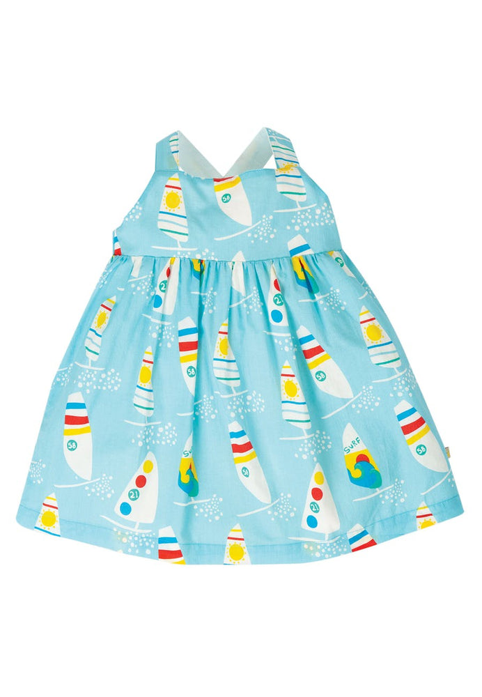 Frugi Bright Sky Ride The Waves Jess Party Dress