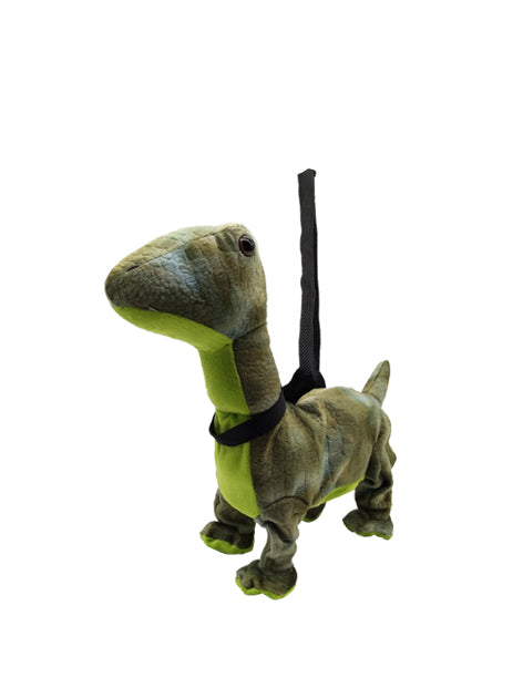 Animated 26cm walking and singing brachiosaurus dinosaur