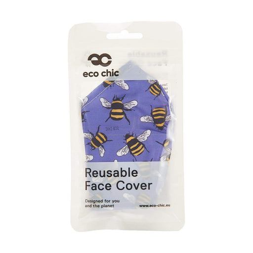 Eco Chic Reusable Face Cover Bees