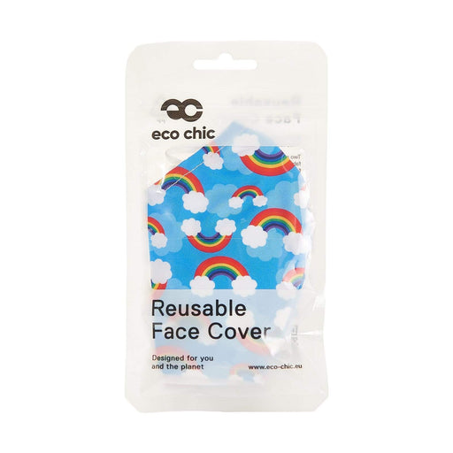 Eco Chic Reusable Face Cover Rainbow