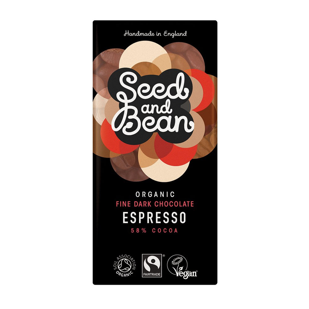 Seed & Bean Espresso Dark Chocolate Bar