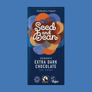 Seed & Bean Extra Dark Chocolate Bar