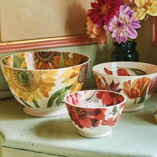 Emma Bridgewater Flowers Tulips Medium Old Bowl