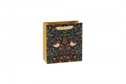Seasons Greetings Small Robin Gift Bag