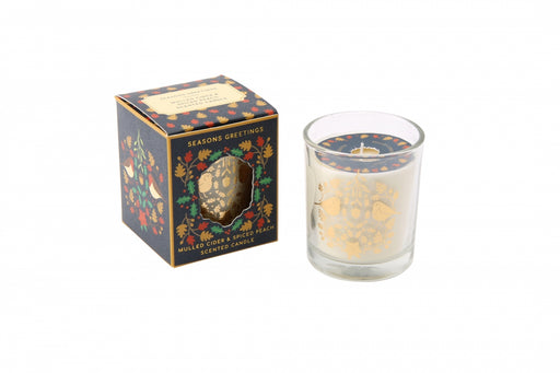 Seasons Greetings Boxed Candle